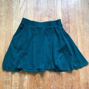 Forever 21 Dark Green Mini Skirt